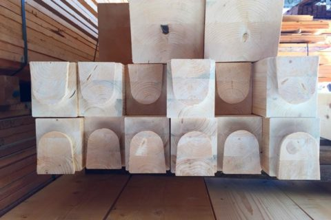 legno lamellare gl24h intagliato